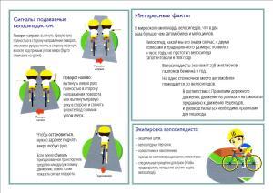 4 ПДД юные велосипедисты 2